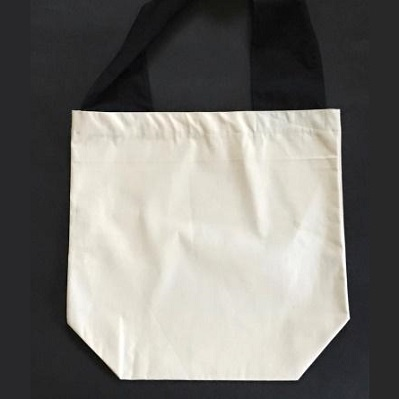 FLAT BAG WITH ONE WIDE HANDLE